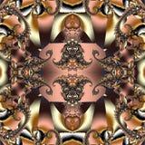 Bajecznie abstrakcjonistyczny tło z spirala wzorem Ty możesz używać mnie obrazy stock
