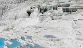 Bajecznie krajobraz wody bogactwa wapnie Zdjęcia Royalty Free