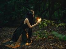 Bajecznie; lasowa boginka Gyana obraz royalty free