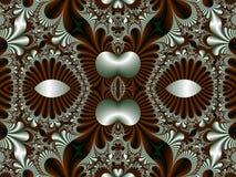 Bajecznie symetryczny wzór dla tła Kolekcja - Magica ilustracji