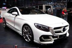 BAJECZNY projekta Mercedez Benz klasy Coupe Zdjęcia Stock