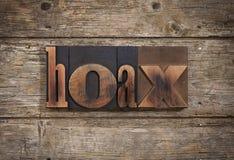 Bajerowanie pisać z letterpress typ zdjęcie stock