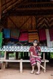BAJIANG,占巴塞省,老挝人P d r - 8月14日:未认出的Alak t 库存照片