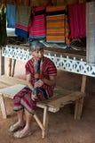 BAJIANG,占巴塞省,老挝人P d r - 8月14日:未认出的Alak t 图库摄影