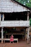 BAJIANG,占巴塞省,老挝人P d r - 8月14日:未认出的Alak t 库存图片