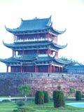 Bajing terrass-berömda sceniska fläckar i Jiangxi Arkivfoto