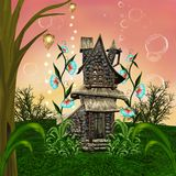 Bajka dom royalty ilustracja