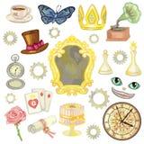 Bajka elementy Zdjęcia Royalty Free