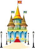 Bajka kasztel royalty ilustracja