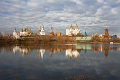 Bajki miasteczko w Moskwa Fotografia Royalty Free