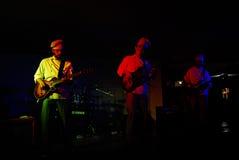 Bajo/chitarre e basso di Guitarras y Fotografia Stock