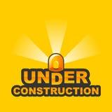 Bajo construcción/2 stock de ilustración