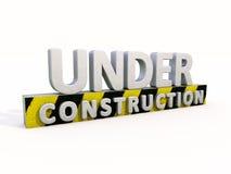 Bajo construcción stock de ilustración