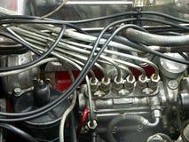 Bajo el capo motor Foto de archivo