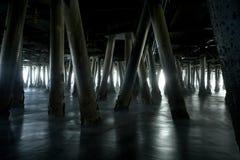 Bajo el embarcadero 1 Foto de archivo