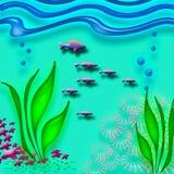 Bajo el mar Imagen de archivo libre de regalías