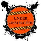 Bajo icono de la construcción Imagenes de archivo
