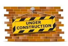 Bajo la pared de la construcción libre illustration