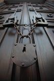 Bajo llave y candado Foto de archivo libre de regalías
