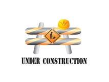 Bajo muestra de la construcción Stock de ilustración