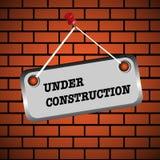 Bajo muestra de la construcción Fotografía de archivo