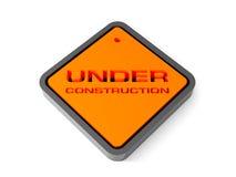 Bajo muestra de la construcción. 3d. Fotos de archivo libres de regalías