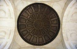 Bajo PA del campo de batalla de Gettysburg del monumento de Pennsylvania de la bóveda Imagenes de archivo