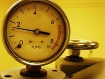 Bajo presión Foto de archivo libre de regalías