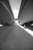 Bajo un puente Fotografía de archivo