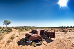 Bajo un sol caliente fotografía de archivo