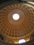 Bajo una bóveda de la catedral Foto de archivo libre de regalías