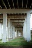 Bajo una carretera Imagen de archivo libre de regalías