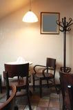 Bajo una lámpara Fotografía de archivo libre de regalías