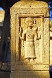 Bajorrelieve hindú antiguo que representa a dios Ganesh, Jaisalmer Fotografía de archivo