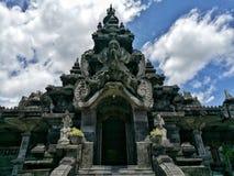 Bajra纪念碑登巴萨巴厘岛印度尼西亚 免版税库存照片