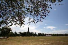 Bajra Sandhi纪念碑,登巴萨,巴厘岛,印度尼西亚 图库摄影