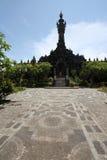 Bajra Sandhi纪念碑,登巴萨,巴厘岛,印度尼西亚 免版税图库摄影