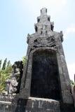 Bajra Sandhi纪念碑,登巴萨,巴厘岛,印度尼西亚 免版税库存照片