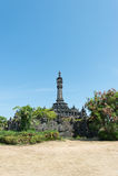 Bajra Sandhi monument, Denpasar, Bali royaltyfria foton