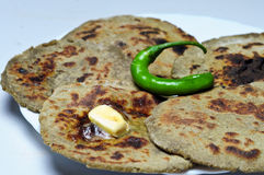 Bajre ki roti Royalty Free Stock Photography
