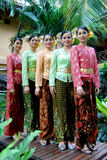 Baju Kebaya Stock Photo