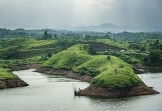 Bajulmati水库在Situbondo印度尼西亚 图库摄影