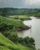 Bajulmati水库在Situbondo印度尼西亚 库存图片