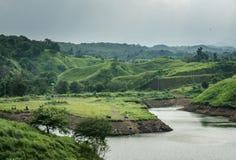Bajulmati水库在Situbondo印度尼西亚 免版税库存图片