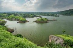 Bajulmati水库在Situbondo印度尼西亚 免版税库存照片