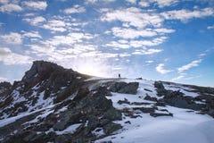 Bak bilder till solen Fotografering för Bildbyråer