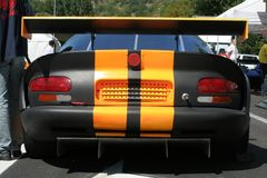 bak bilen Arkivfoto