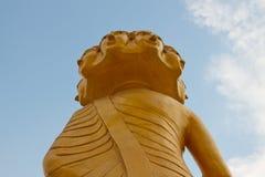 bak buddha Arkivfoton