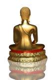 bak den buddha bilden Royaltyfri Fotografi