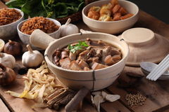 Bak Kut Teh Stock Photo